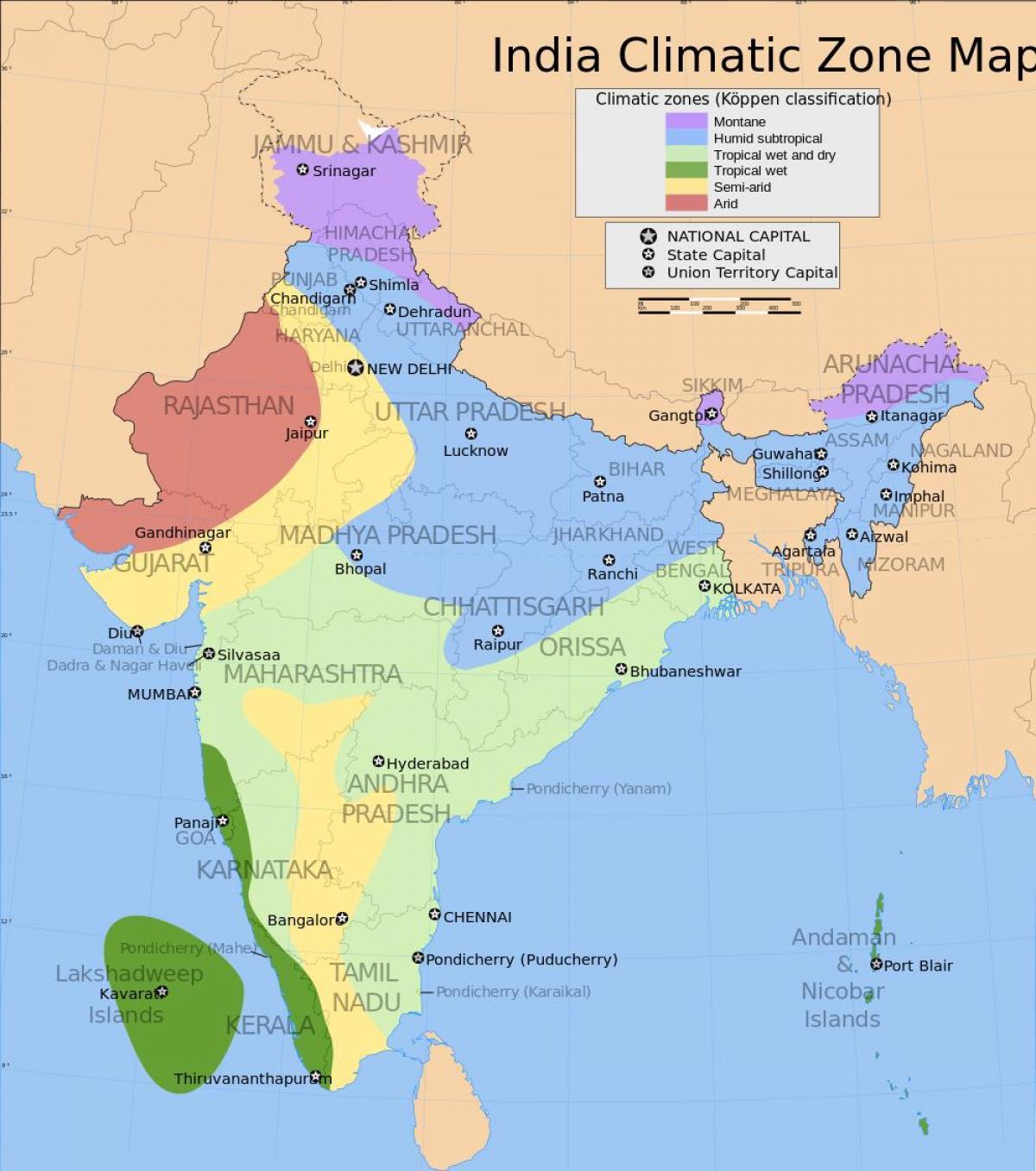 Indisk Plateau Kort Plateauer I Indien Kort Det Sydlige Asien
